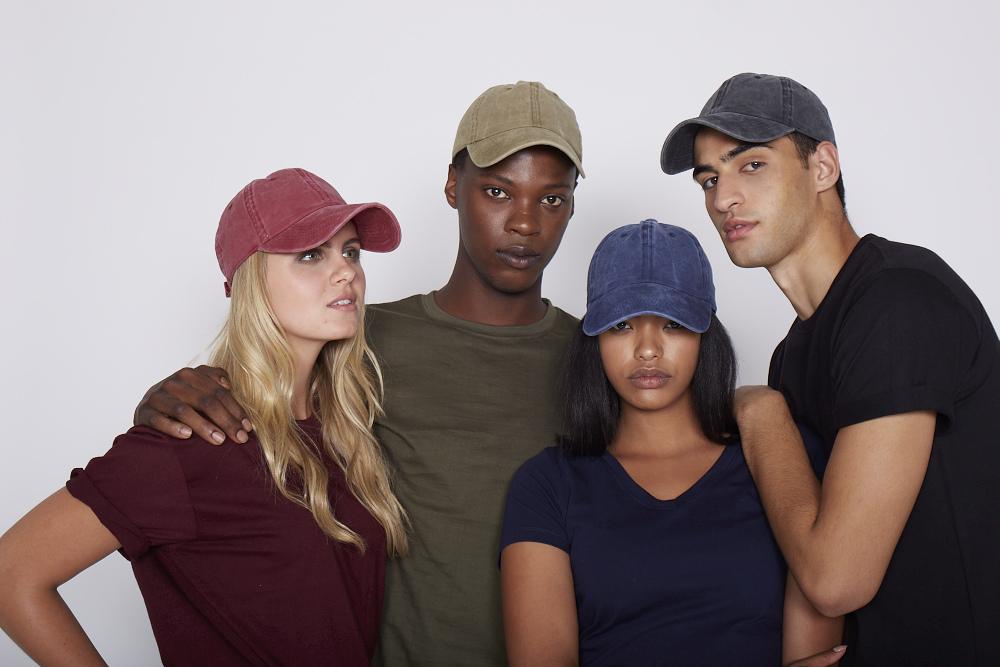 Headwear, t-shirts, hoodies, caps